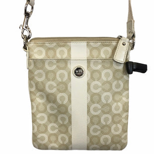 Primary Photo - BRAND: COACH STYLE: HANDBAG DESIGNER COLOR: CREAM SIZE: SMALL OTHER INFO: AS IS- STAINING AROUND TOP OF INSIDESKU: 283-283135-4807