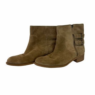 Primary Photo - BRAND: NINE WEST STYLE: BOOTS ANKLE COLOR: TAN SIZE: 9.5 OTHER INFO: AS IS SKU: 283-283124-21808