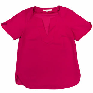 Primary Photo - BRAND: TRINA TURK STYLE: TOP SHORT SLEEVE COLOR: PINK SIZE: PETITE SKU: 283-28388-26550
