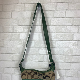 Primary Photo - BRAND: COACH STYLE: HANDBAG DESIGNER COLOR: GREEN SIZE: MEDIUM OTHER INFO: AS IS SKU: 283-283124-20176