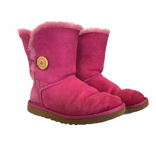 Primary Photo - BRAND: UGG STYLE: BOOTS ANKLE COLOR: PINK SIZE: 6 SKU: 283-283148-279
