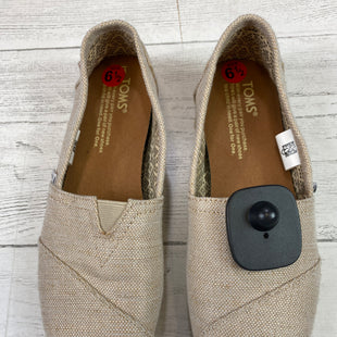Primary Photo - BRAND: TOMS STYLE: SHOES FLATS COLOR: CHAMPAGNE SIZE: 6.5 OTHER INFO: AS IS SKU: 283-283124-19863