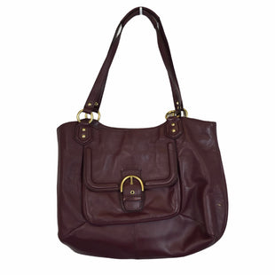 Primary Photo - BRAND: COACH STYLE: HANDBAG DESIGNER COLOR: PLUM SIZE: LARGE OTHER INFO: AS IS SKU: 283-28388-23137