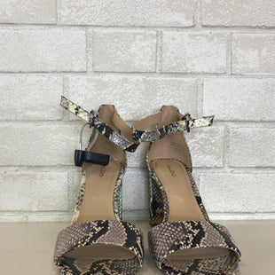 Primary Photo - BRAND: ALDO STYLE: SANDALS HIGH COLOR: SNAKESKIN PRINT SIZE: 7 OTHER INFO: AS IS SKU: 283-283135-2839
