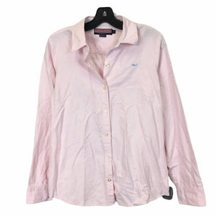 Primary Photo - BRAND: VINEYARD VINES STYLE: TOP LONG SLEEVE COLOR: PINK SIZE: 8 SKU: 283-28388-28529