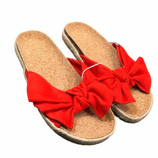 Primary Photo - BRAND: AMERICAN EAGLE STYLE: SANDALS FLAT COLOR: RED SIZE: 8 SKU: 283-283149-8340