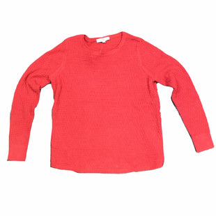 Primary Photo - BRAND: LOFT STYLE: SWEATER LIGHTWEIGHT COLOR: RED SIZE: L SKU: 283-283134-8929
