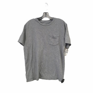 Primary Photo - BRAND: PATAGONIA STYLE: TOP SHORT SLEEVE BASIC COLOR: GREY SIZE: M OTHER INFO: AS IS SKU: 283-28388-27497