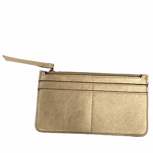Primary Photo - BRAND:    CLOTHES MENTOR STYLE: WALLET COLOR: GOLD SIZE: SMALL SKU: 283-283142-2410