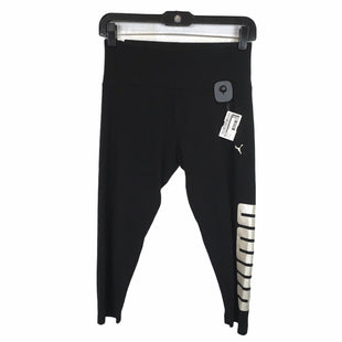 Primary Photo - BRAND: PUMA STYLE: ATHLETIC CAPRIS COLOR: BLACK SIZE: M SKU: 283-283124-18719