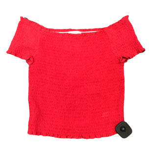 Primary Photo - BRAND:    CLOTHES MENTOR STYLE: TOP SHORT SLEEVE COLOR: RED SIZE: S OTHER INFO: LOTTIE MOSS - SKU: 283-28388-27467