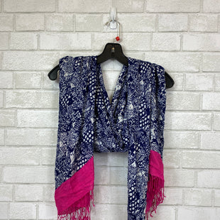 Primary Photo - BRAND:    CLOTHES MENTOR STYLE: SCARF COLOR: BLUE OTHER INFO: AS IS SKU: 283-283124-20410