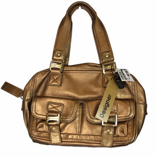 Primary Photo - BRAND: MICHAEL KORS STYLE: HANDBAG DESIGNER COLOR: BRONZE SIZE: MEDIUM OTHER INFO: AS IS SKU: 283-283133-16363