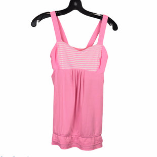 Primary Photo - BRAND: LULULEMON STYLE: ATHLETIC TANK TOP COLOR: PINK SIZE: 6 SKU: 283-283135-4258