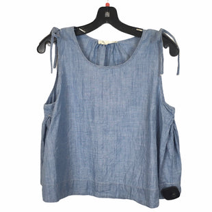 Primary Photo - BRAND: MADEWELL STYLE: TOP SLEEVELESS COLOR: DENIM SIZE: S SKU: 283-28388-27267