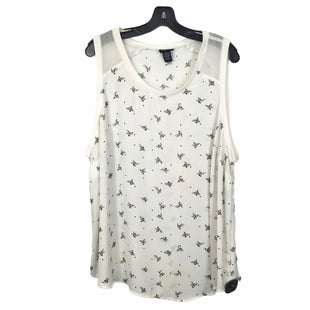 Primary Photo - BRAND: TORRID STYLE: TOP SLEEVELESS COLOR: WHITE SIZE: 3X SKU: 283-283149-9490