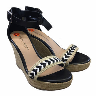 Primary Photo - BRAND: CHRISTIAN SIRIANO FOR PAYLESS STYLE: SANDALS HIGH COLOR: BLACK SIZE: 8.5 SKU: 283-283134-9981
