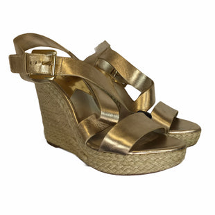 Primary Photo - BRAND: MICHAEL BY MICHAEL KORS STYLE: SANDALS HIGH COLOR: GOLD SIZE: 9 SKU: 283-28388-27709
