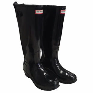 Primary Photo - BRAND: HUNTER STYLE: BOOTS DESIGNER COLOR: BLACK SIZE: 10 OTHER INFO: AS IS SKU: 283-28388-28076