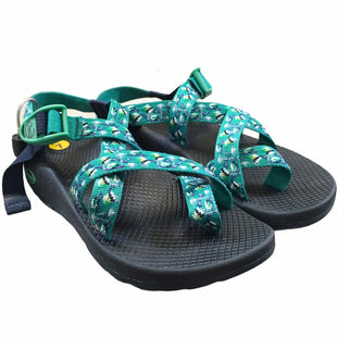 Primary Photo - BRAND: CHACOS STYLE: SANDALS FLAT COLOR: BLUE GREEN SIZE: 7 SKU: 283-283142-2721