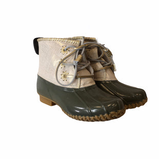 Primary Photo - BRAND: JACK ROGERS STYLE: BOOTS DESIGNER COLOR: OLIVE SIZE: 6 OTHER INFO: AS IS SKU: 283-283133-15814