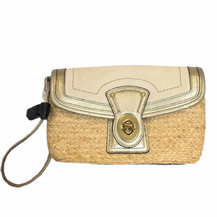 Primary Photo - BRAND: COACH STYLE: WRISTLET COLOR: STRAW SKU: 283-283134-10115