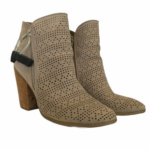 Primary Photo - BRAND: CARLOS SANTANA STYLE: BOOTS ANKLE COLOR: TAN SIZE: 8.5 OTHER INFO: AS IS SKU: 283-283135-4122