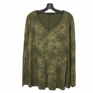 Primary Photo - BRAND: ANDREE BY UNIT STYLE: TOP LONG SLEEVE COLOR: GREEN SIZE: 2X SKU: 283-283149-7101