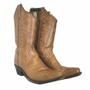 Primary Photo - BRAND: OLD WEST STYLE: BOOTS KNEE COLOR: TAN SIZE: 5 OTHER INFO: AS IS SKU: 283-283133-15825