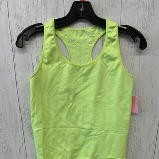 Primary Photo - BRAND: NIKE STYLE: ATHLETIC TANK TOP COLOR: NEON SIZE: M SKU: 283-283124-19663