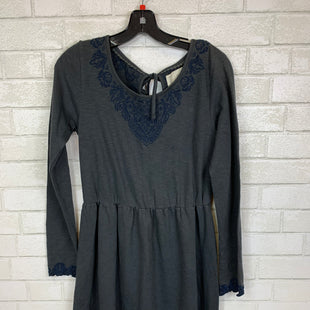 Primary Photo - BRAND: ANTHROPOLOGIE STYLE: DRESS SHORT LONG SLEEVE COLOR: GREY SIZE: S SKU: 283-28388-12228