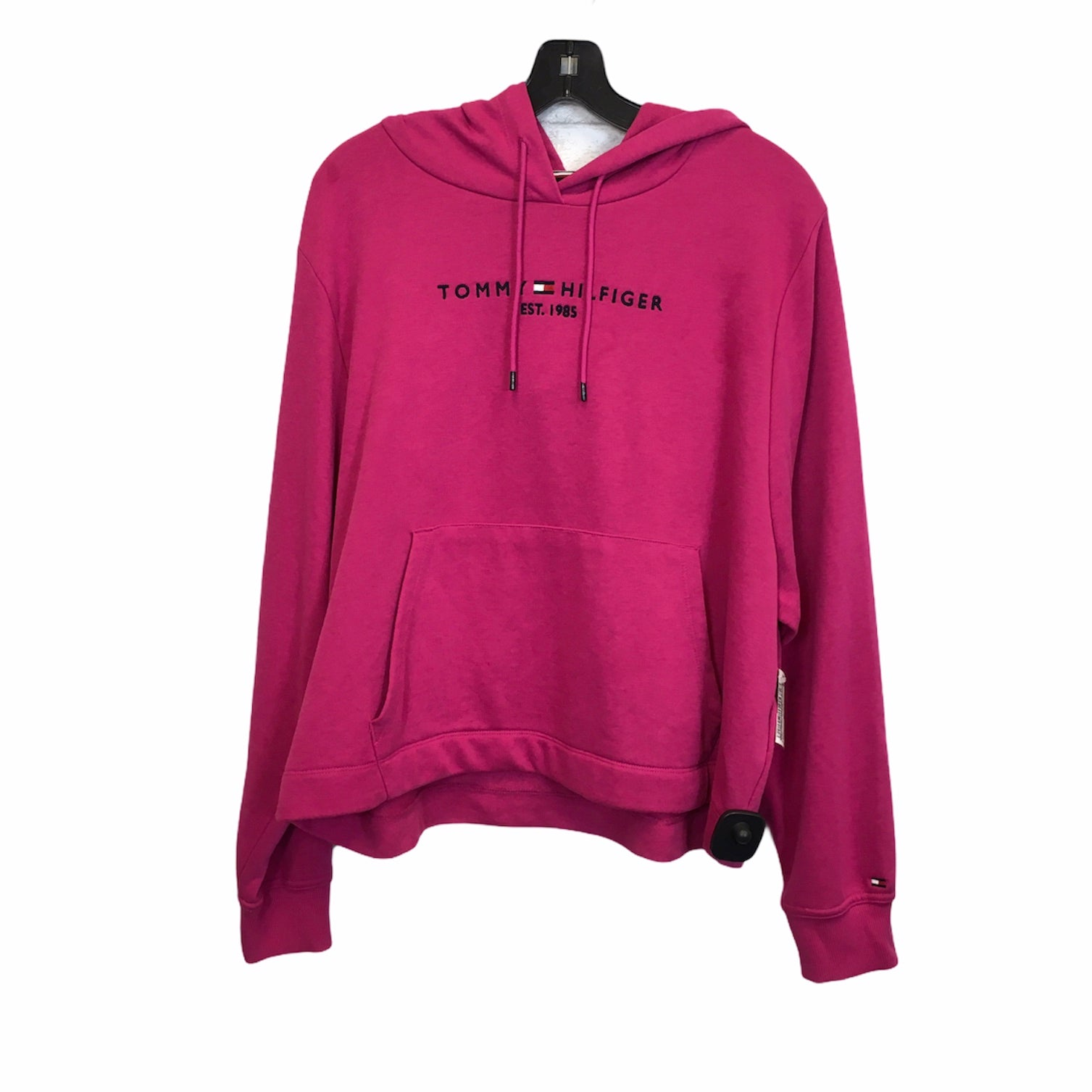 Primary Photo - BRAND: TOMMY HILFIGER <BR>STYLE: SWEATSHIRT HOODIE <BR>COLOR: PINK <BR>SIZE: XL <BR>SKU: 283-283149-7432