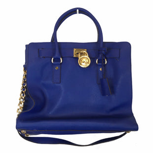 Primary Photo - BRAND: MICHAEL KORS STYLE: HANDBAG DESIGNER COLOR: BLUE SIZE: LARGE OTHER INFO: AS IS SKU: 283-283149-10212
