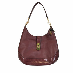 Primary Photo - BRAND: COACH STYLE: HANDBAG DESIGNER COLOR: BURGUNDY SIZE: MEDIUM OTHER INFO: AS IS SKU: 283-283133-16332