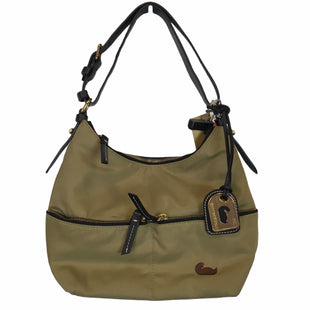 Primary Photo - BRAND: DOONEY AND BOURKE STYLE: HANDBAG DESIGNER COLOR: TAN SIZE: SMALL OTHER INFO: AS IS SKU: 283-28388-22535