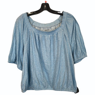 Primary Photo - BRAND: LOFT STYLE: TOP SHORT SLEEVE COLOR: BLUE SIZE: XL SKU: 283-283149-9680