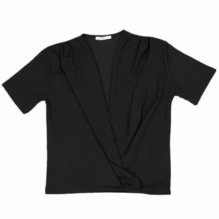Primary Photo - BRAND: ZARA BASIC STYLE: TOP SHORT SLEEVE COLOR: BLACK SIZE: L SKU: 283-28388-25484