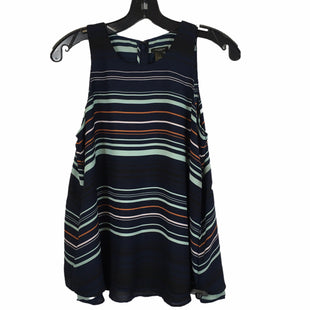 Primary Photo - BRAND: ANN TAYLOR STYLE: TOP SLEEVELESS COLOR: NAVY SIZE: S SKU: 283-283134-10502