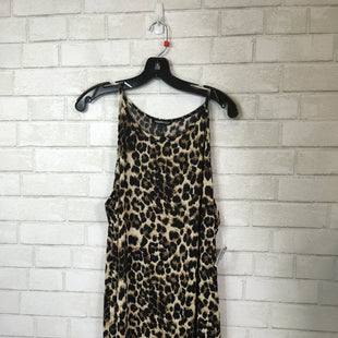Primary Photo - BRAND:    CLOTHES MENTOR STYLE: DRESS LONG SLEEVELESS COLOR: ANIMAL PRINT SIZE: 2X OTHER INFO: HEIMISH - SKU: 283-283124-20137