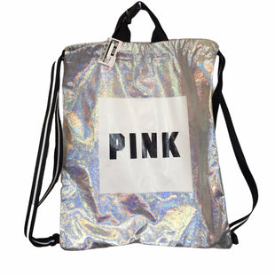 Primary Photo - BRAND: PINK STYLE: BACKPACK COLOR: SILVER SIZE: MEDIUM OTHER INFO: AS IS SKU: 283-283133-16070