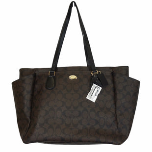 Primary Photo - BRAND: COACH STYLE: DIAPER BAG COLOR: BROWN SIZE: LARGE OTHER INFO: BROKEN STRAP - AS IS SKU: 283-28388-28604
