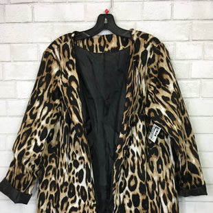Primary Photo - BRAND:    CLOTHES MENTOR STYLE: BLAZER JACKET COLOR: ANIMAL PRINT SIZE: 3X SKU: 283-28388-15036
