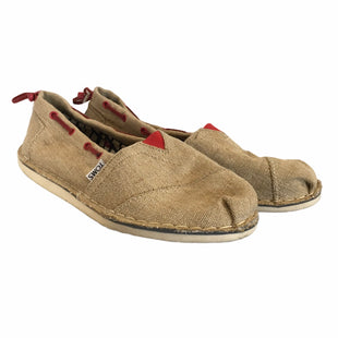 Primary Photo - BRAND: TOMS STYLE: SHOES FLATS COLOR: BROWN SIZE: 7.5 SKU: 283-283134-8994