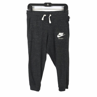 Primary Photo - BRAND: NIKE APPAREL STYLE: ATHLETIC CAPRIS COLOR: GREY SIZE: S SKU: 283-28388-19561