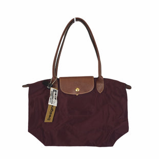 Primary Photo - BRAND: LONGCHAMP STYLE: HANDBAG DESIGNER COLOR: BURGUNDY SIZE: MEDIUM OTHER INFO: AS IS SKU: 283-283135-4952