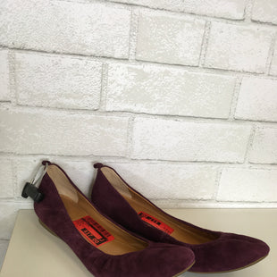 Primary Photo - BRAND: J CREW O STYLE: SHOES FLATS COLOR: BURGUNDY SIZE: 8.5 OTHER INFO: AS IS SKU: 283-28388-13631