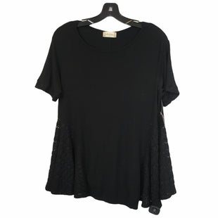 Primary Photo - BRAND: ALTARD STATE STYLE: TOP SHORT SLEEVE COLOR: BLACK SIZE: S SKU: 283-28388-20685