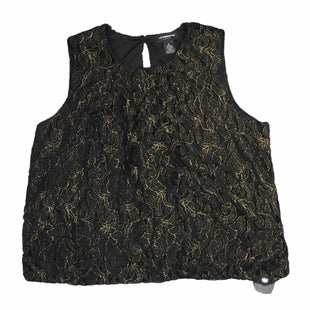 Primary Photo - BRAND: LIZ CLAIBORNE STYLE: TOP SLEEVELESS COLOR: BLACK SIZE: XL SKU: 283-28388-27951