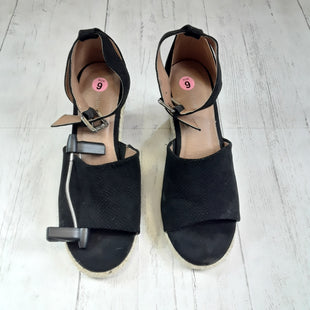 Primary Photo - BRAND: ATTENTION STYLE: SANDALS HIGH COLOR: BLACK SIZE: 9 OTHER INFO: AS IS SKU: 283-28388-7433