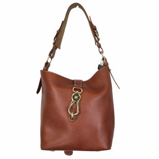 Primary Photo - BRAND: DOONEY AND BOURKE STYLE: HANDBAG DESIGNER COLOR: BROWN SIZE: LARGE OTHER INFO: AS IS SKU: 283-283135-5449
